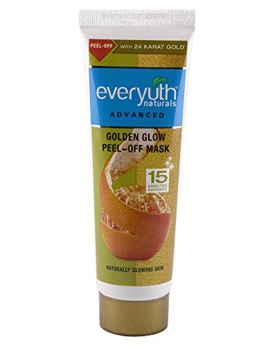 10. Everyuth Naturals Golden Glow Peel-Off Mask