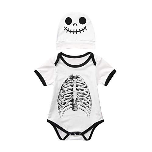 Baby Bär Winter in warmen Nachtwäsche für Kinder 0-5 Jahre Kurzarm-T-Shirt, Rundhals Baby Jungen Unisex gepolsterten Winter Body Baby Mädchen Comic-Baumwolle