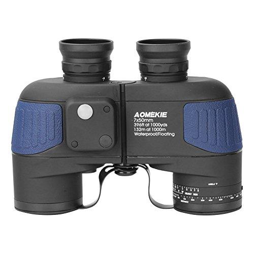 Aomekie Fernglas mit Nachtsicht und Tasche für Kinder Erwachsene, klein Kompakt Teleskop 7X50 HD...