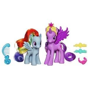My Little Pony Princess Twilight Sparkle and Rainbow Dash Figures Enfants, enfants, jeux, jouets, jeux