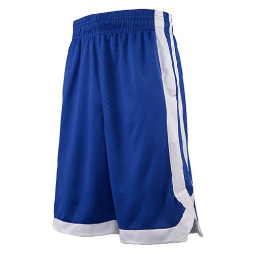 TopTie Two Tone Basketball Shorts For Men with Pockets, Pocket Training Shorts-NavyBlue-L