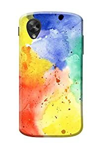 LG Google Nexus 5 Back Case Kanvas Cases Premium Quality Designer 3D Printed Lightweight Slim Matte Finish Hard Cover for LG Google Nexus 5