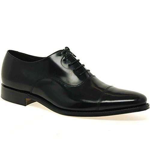 loake-smith-hommes-chaussures-habillees-a-lacets-noirs-polis-11-uk