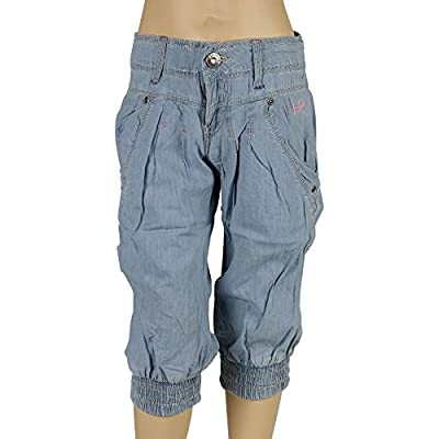Lee Cooper Designer Girls Denim Jeans Casual Fashion Trousers Pants Cuffed Ankle : everything £5 (or less!)