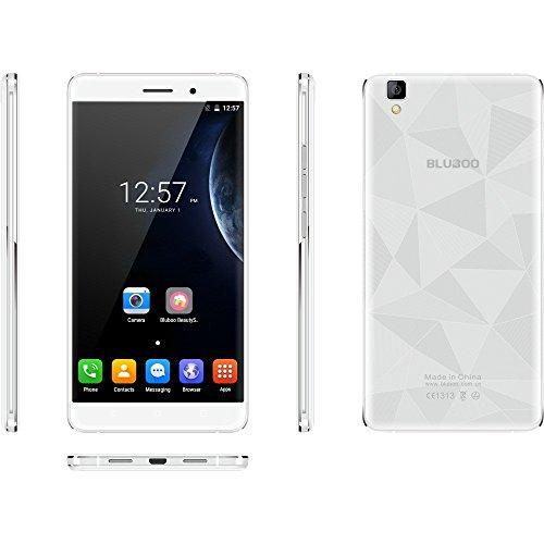MYQyiyi Smartphone Libre Android 6.0,Teléfonos Móviles Libres Quad Core 2GB+16GB (Plata)