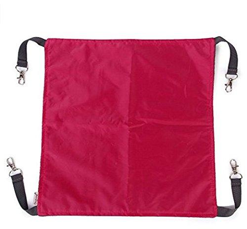 Buyer-first Letto Pet Cat Amaca appesa Bed Dual-Side Inverno Estate Usa ( L, colore rosso della Rosa)