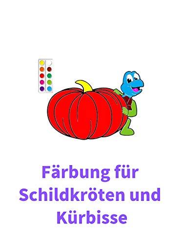 Clip: Färbung für Schildkröten und Kürbisse