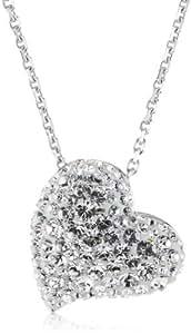 Swarovski Damen-Anhänger Alana Clear Crystal in Rhodium 1121055