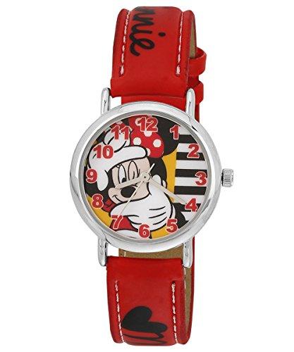 Disney 3K0384U-MK (RED)  Analog Watch For Kids