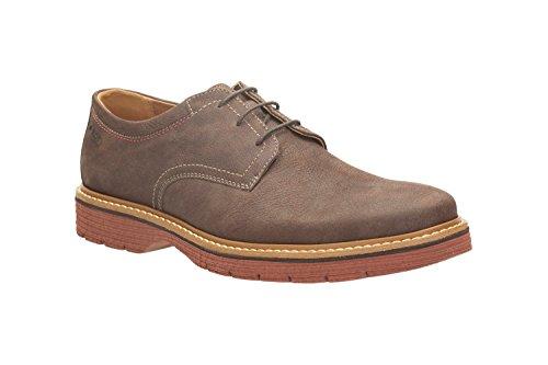 Clarks Newkirk Plain, Chaussures de ville homme Marron