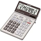 SHARP Tischrechner EL-387V BatterieSolar 112x185x25,5mm Silber