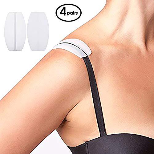 Neue 4CLEAR teanfa Silikon BH Gurt Kissen Halter rutschfesten Komfort Schulterpolster