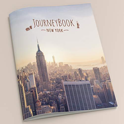New York Reisetagebuch: Für die schönsten Erinnerungen an den Städtetrip – DIN A5, 40 Seiten – inklusive praktischer Aufbewahrungstasche