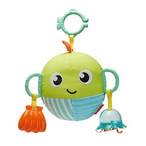 Fisher-Price Pececito Sensorial, juguete para bebé recién nacido (Mattel GFC36)