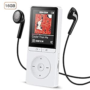 16gb lossless mp3 player mit fm radio und. Black Bedroom Furniture Sets. Home Design Ideas