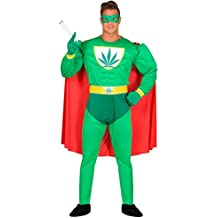Disfraz de Superhéroe Marihuana para hombre