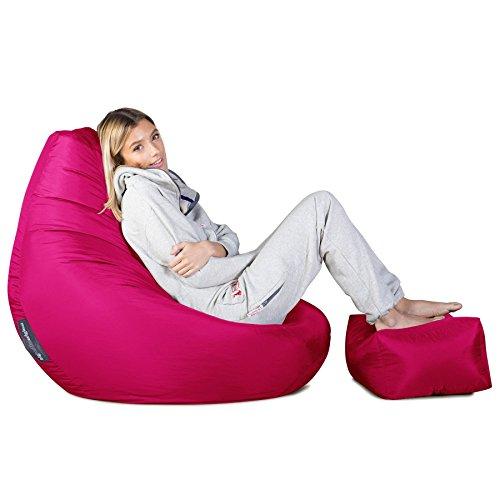 Big Bertha Original, Gaming Sitzsack Sessel, Pink - 2