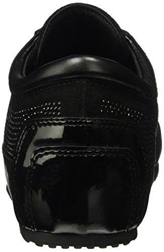Tosca Blu Damen Flick Sneakers Schwarz (C99)