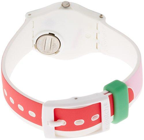 Swatch Damen Armbanduhr Digital Quarz Silikon LW146 - 2
