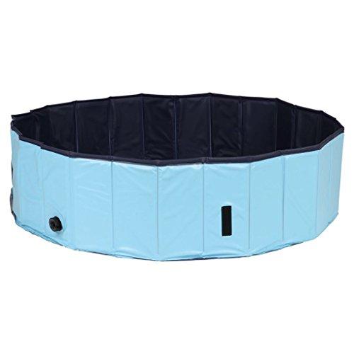 Trixie Piscina para Perros, ø 120×30 cm, Azul Oscuro-Azul