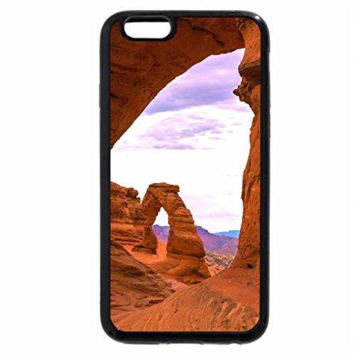 iPhone 6S / iPhone 6 Case (Black) Delicate Arch