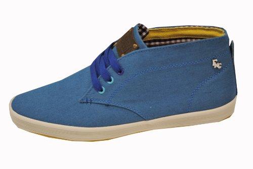 Base London Fish N Chip- Rod, Chaussures de ville à lacets pour homme Canvas Blue