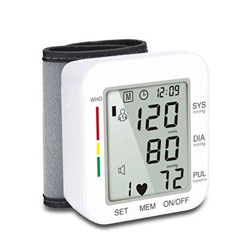 DaQao Automatischer Blutdruckmonitor, Digitaler Oberarm-Blutmonitor, Detektor für unregelmäßigen Herzschlag und Hypertonie, 99 Gruppen Speicher
