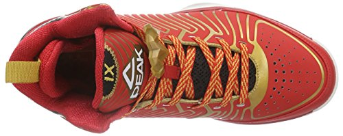 Peak Sport Europe Peak Basketballschuh Battier Ix Herren Basketballschuhe Rot (Red/Golden)