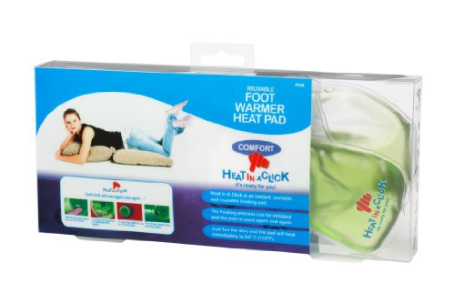Heat in a Click Instant Re-Useable Heat Pack Foot Pad (Various Colours) -