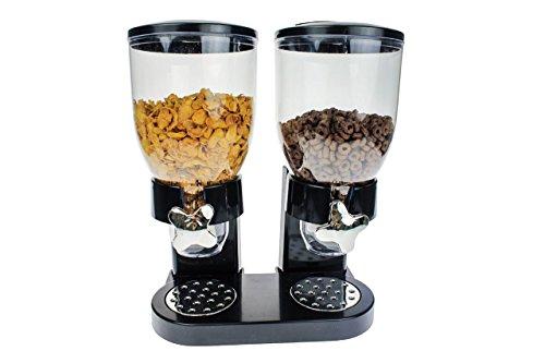 United Entertainment- Dispensador de muesli, cereales y copos de maíz individual, doble o triple