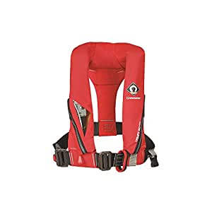Crewsaver Crewfit 150N Junior Lifejacket Auto With Harness Red 9005RA