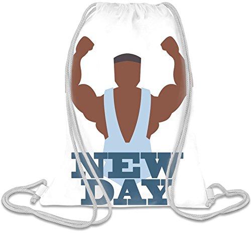 New Day Kordelzug Beutel (Gym Bag Wwe)