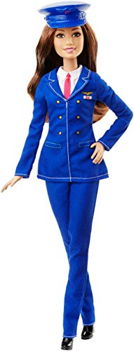 Barbie Pilot Doll - Muñeca pilota (Chica, Multi, Femenino)