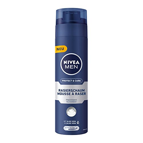 Nivea Men Protect & Care Rasierschaum, 6er Pack (6 x 200 ml)