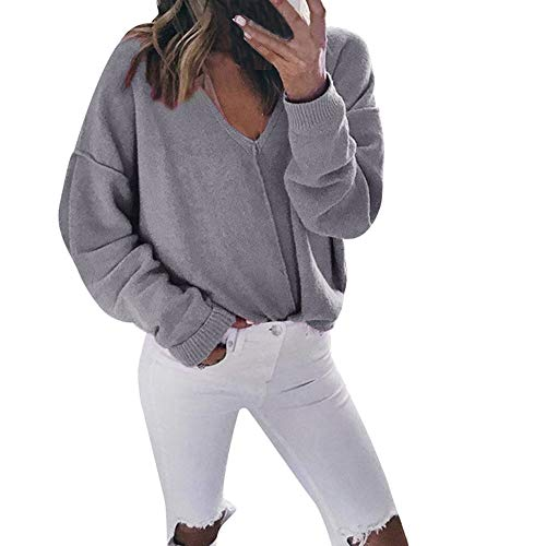 Qinsling maglione donna invernale maglione donna collo alto maglione uomo invernale maglione uomo inverno maglione a manica lunga con scollo a v a maniche lunghe con scollo a v donna