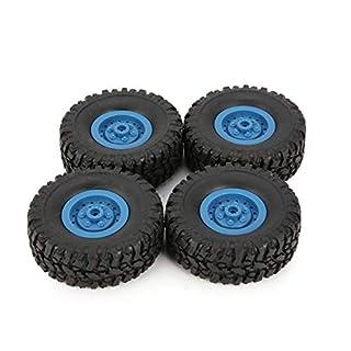 4pcs Felge Reifen Rad Reifen für RC 1/16 Klettern Auto WPL B-1 / B-24 / C-14 / C-24 / B-16