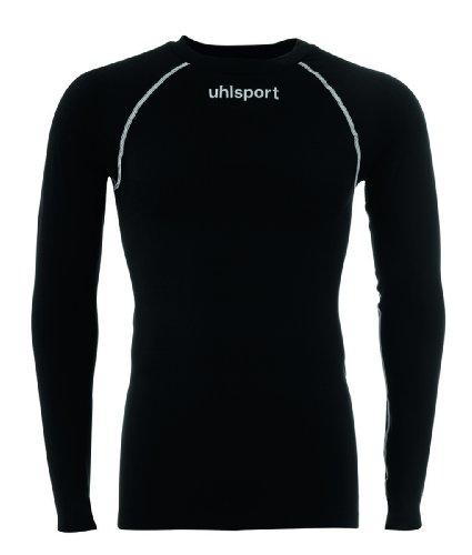 uhlsport Thermo Shirt Langarm Herren T, schwarz, XL/2XL