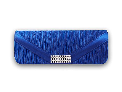 Abendtasche XPGG Party blau Hardcase Clutch 006 Damen Synthetik x7Iq74wZ