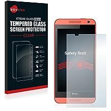 Savvies Protector Cristal Templado HTC Desire 610 Protector Pantalla Vidrio - Dureza 9H