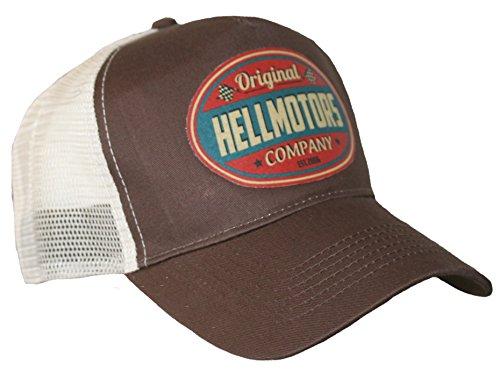 Hellmotors Original Trucker Cap V8 Oldschool Kappe