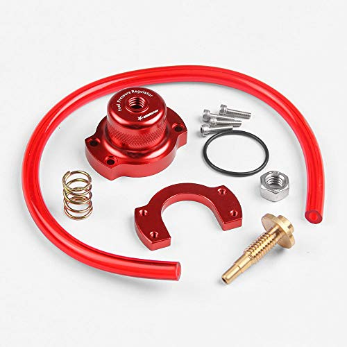 XuBa réglable FPR kit de jauge de Pression de Carburant pour Honda Acura Civic Racing