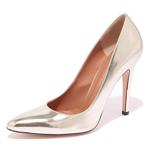 53568 decollete BLUMARINE scarpa donna shoes women oro chiaro [36.5]