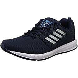 Lancer Men's Navy,Sky Blue Running Shoes-8 UK/India (42 EU) (INDUS-12NBL-SBL-8)
