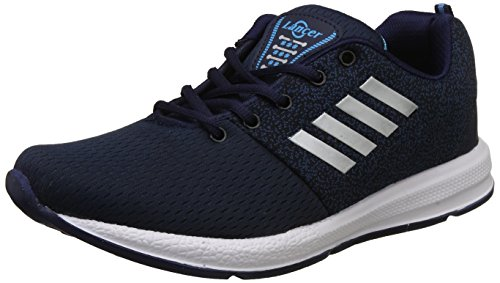 Lancer Men's Navy,Sky Blue Running Shoes-7 UK/India (41 EU) (INDUS-12NBL-SBL-7)