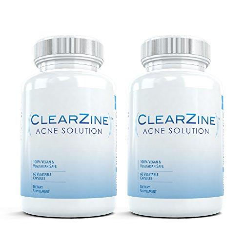 clearzine-2-bouteilles-le-top-evalue-traitement-de-lacne-pilule-elimine-lacne-les-points-noirs-rouge