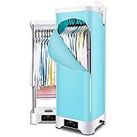LJDGYJ Secadora Portátil de Ropa, Calefacción PTC para Interiores, 900W, Azul, 13 Kg
