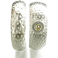 Eheringe, Trauringe, Hochzeitsringe aus Sterlingsilber mit champagner Diamant - handgefertigt by SILVERLOUNGE
