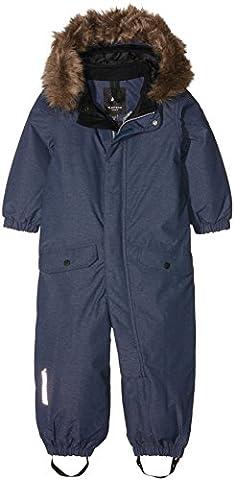 NAME IT Jungen Schneeanzug Nitmedenim M Snowsuit Blue FO 316, Blau (Dress Blues), 92