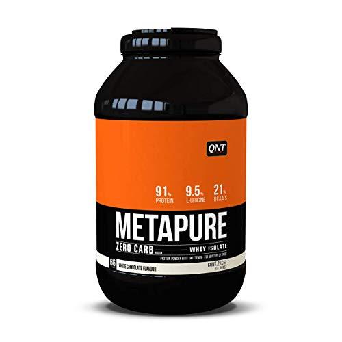 QNT Zero Carb Metapure, White Chocolate, 1er Pack (1 x 2 kg) - Zero Carb Whey Protein