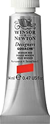 Winsor & Newton Designer's Gouache 14ml - 728 Winsor Red (Series 3)